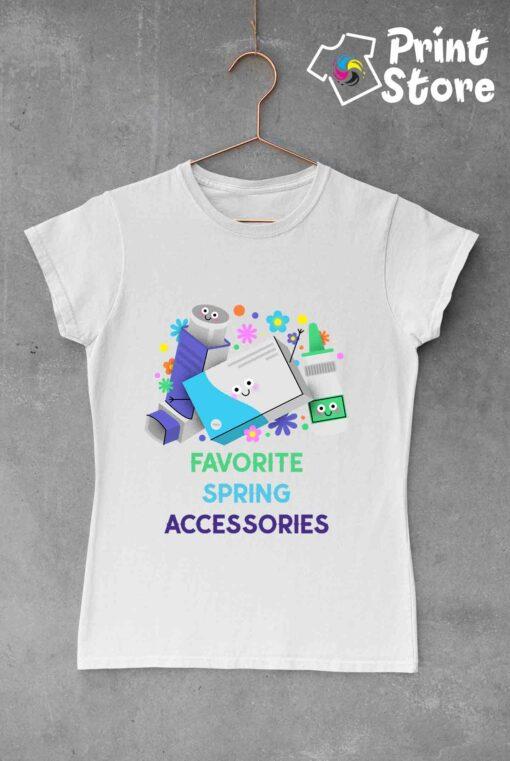 Ženske majice Favorit spring accessoriese - Print Store