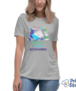 Favorit spring accessories - ženkse sive majice Print Store