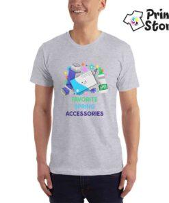 Favorit spring accessories muške sive majice - Print Store