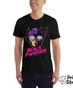 Black Panther crna majica za muškarce. Online prodavnica Print Store