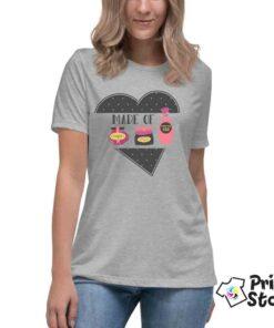 Ženske majice kratak rukav, kvalitetna štampa. Print Store
