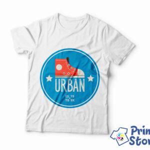 Muška bela majica Urban