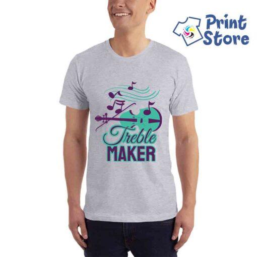 Treble maker siva muška majica - Print Store