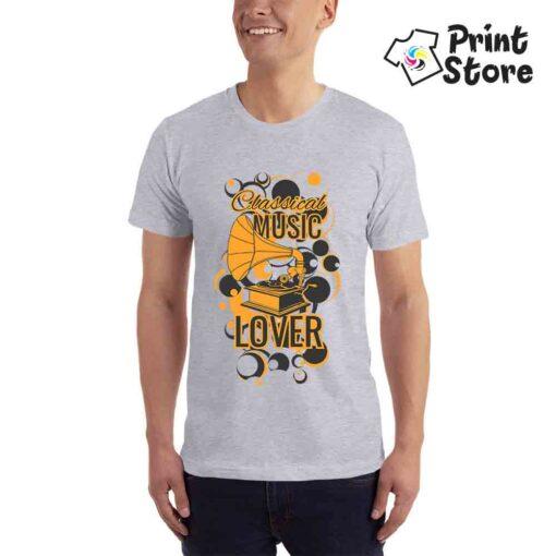 Classical music lover - siva muška majica