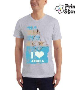 I love africa - muška majica print store