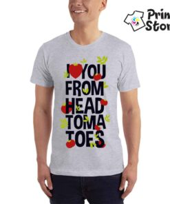 I love you form head tomatoes - Print Store