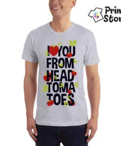 I love you form head tomatoes - Print Store