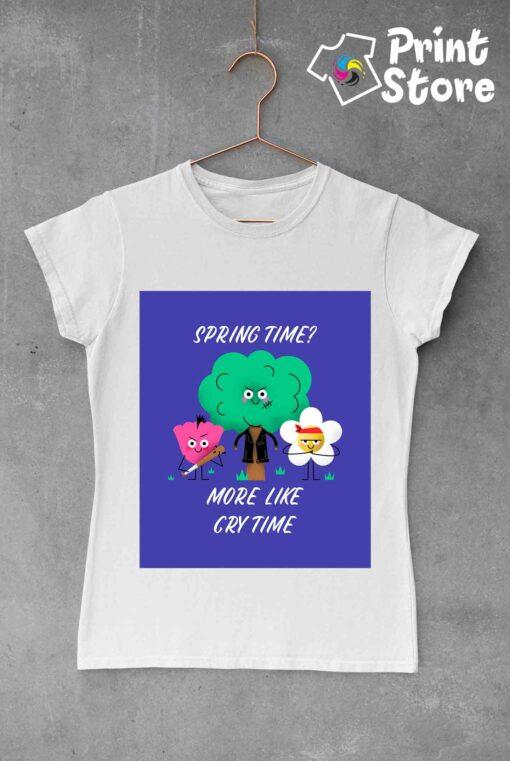 Ženske majice sa zabavnim ilustracijama