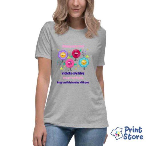 Majice sa motivima alergije - Ženske majice Print Store