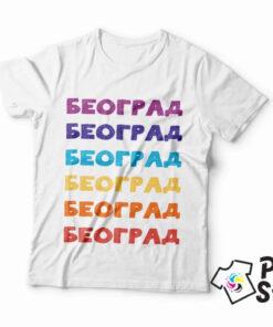 Majice sa motivima Beograda. Štampa na majicama po izboru kupca. Print STore