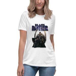 Black Panther ženska majica sa motivom iz istoimenog filma. Print Store online prodavnica