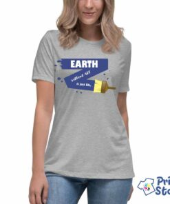 Ženska majica Earth without ART is just EH -Print Store online prodavnica