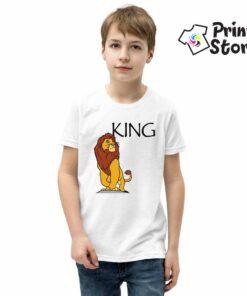 Majica za dečake KING, Lion King.