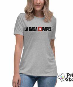 La casa de papel ženske majice. Print Store