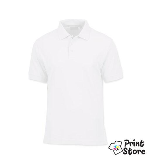 Muška polo majica bela