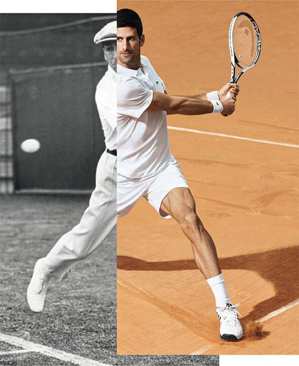 Novak u polo majice Lacoste - blog o polo majicama. Print Store site