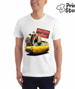 Muška bela majica sa motivom iz serije Only fools and horses. Pogledajte ostale modele u online prodavnici Print Store