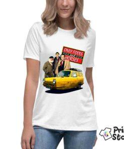 Ženska bela majica sa motivom iz serije Only fools and horses. Pogledajte ostale modele u online prodavnici Print Store