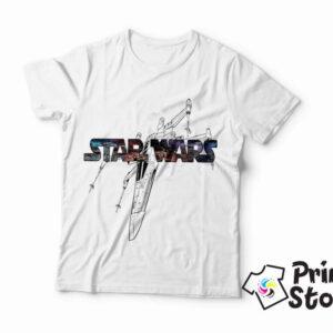 Muška bela majica Star Wars. Print Store online prodavnica