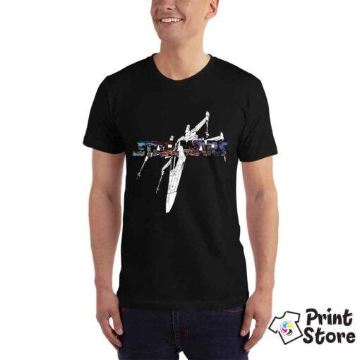 Muška crna majica Star Wars. Print Store online prodavnica
