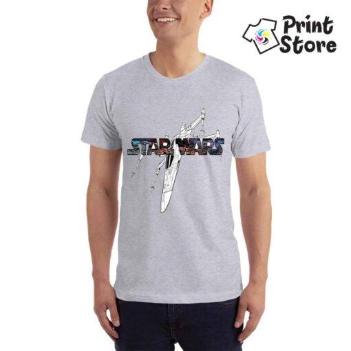 Muška siva majica Star Wars. Print Store online prodavnica
