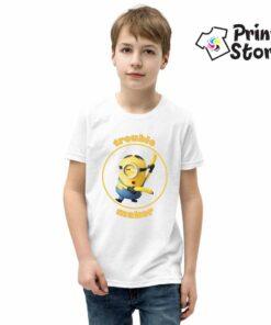Majica za dečake Minions. Trouble maker