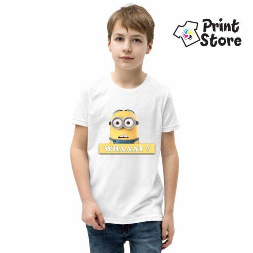 Dečija majica Minions What?
