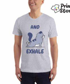 Muška majica - And Exhale - štampa na majicama Print Store