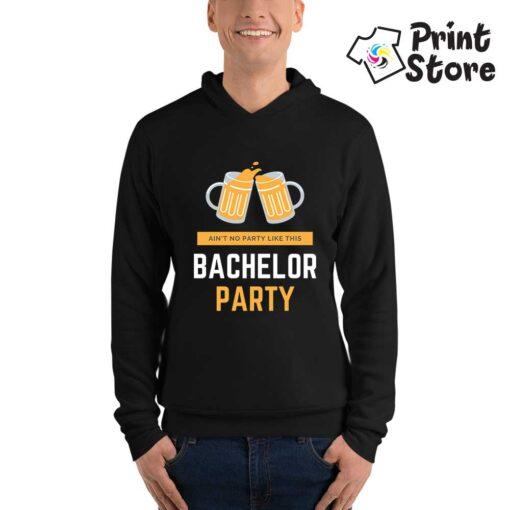 Bachelor party duks crni za momačko veče - Print Store