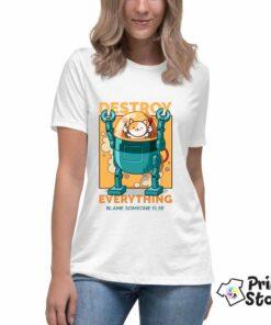 smešne majice - Destroy everything