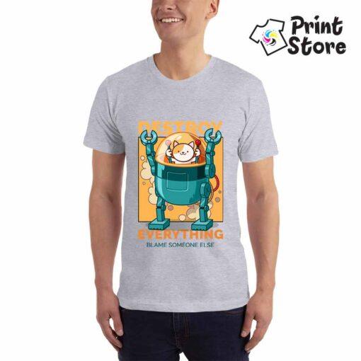 Muška majica - Destroy everything - Print Store online shop