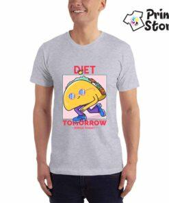 Diet tomorow - muška majica