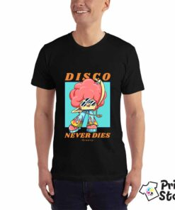 Muška majica - Disco never dies - Print Store shop