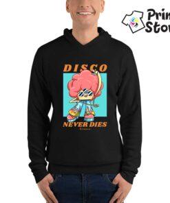 Disco never dies, duksevi sa kapuljačom Print Store