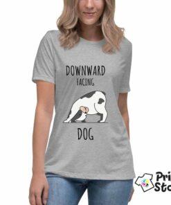 Downward facing dog - majice sa natpisima - Print Store