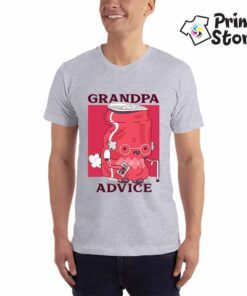 Grandpa advice muška smešna majica - Print Store online shop