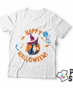Majice muške Happy Halloween, pamučne majice u print store prodavnici.