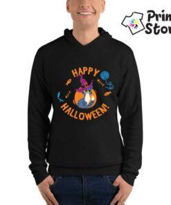 Štampa dukseva Happy Halloween. Prnt Store duksevi