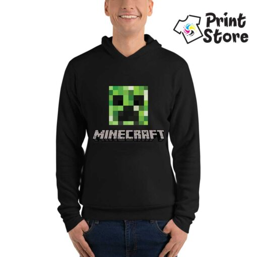 Duksevi sa kapuljačom MIncraft logo - Print Store
