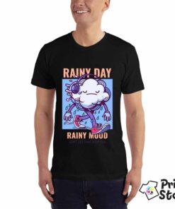 Muška majica - Rainy day Rainy mood