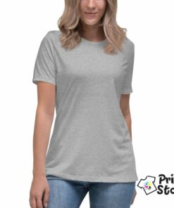 Ženska siva majica - Print Store shop