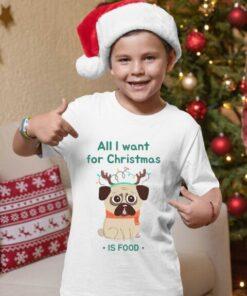 All I want for christmas is food majice za dečake