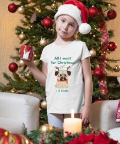 All I want for christmas is food majice za devojčice
