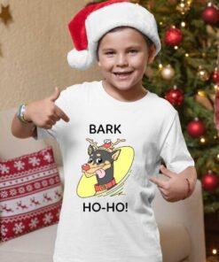 Novogodišnje majice za dečake Bark ho ho. Print Store online prodavnica
