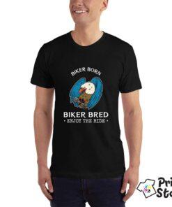 Biker Born - crna majica u Print Store shopu