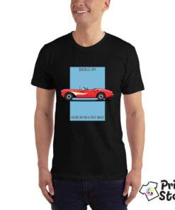 Crna majica - auto moto majice u online shopu Print Store
