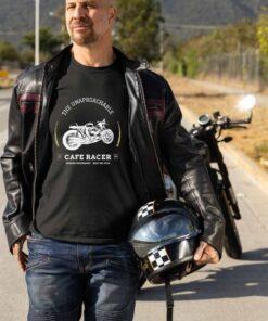 Crna muška majica - The unaproachabel Cafe racer