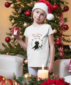 Majice za devojčice Have a Meowy Christmas