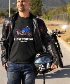 I love touring I really do - moto majica - Print Store shop