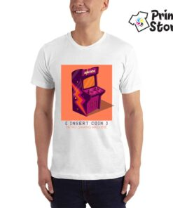 Retro game machine - Print Store majice za muškarce